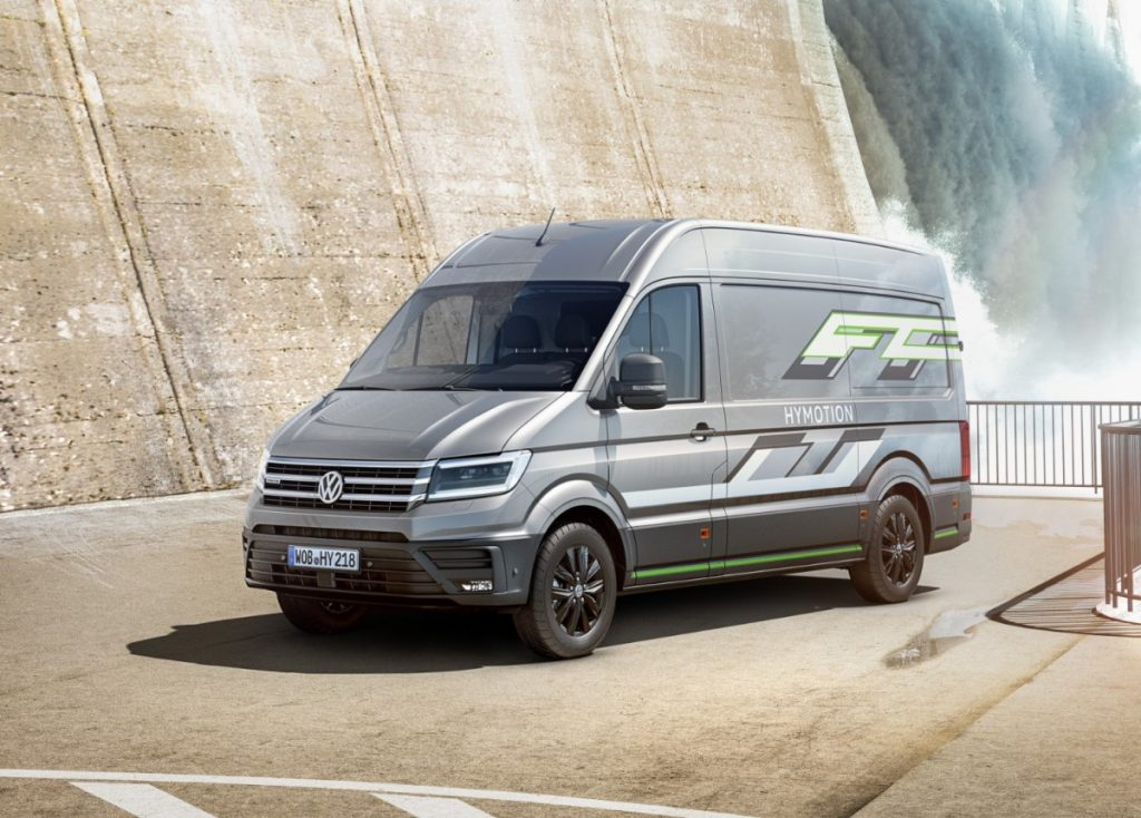 Crafter HyMotion van concept