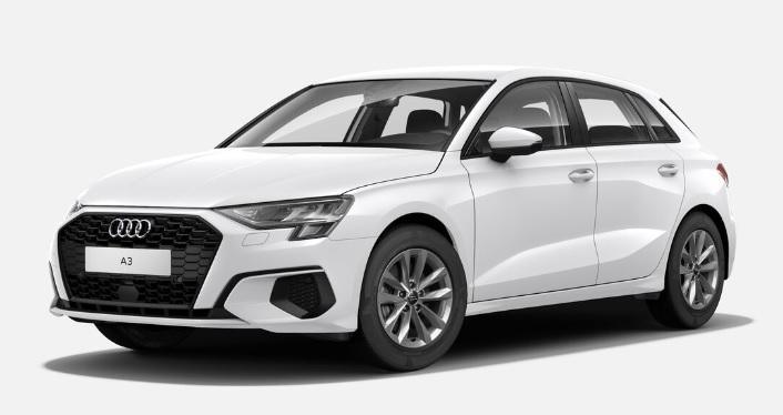 Nouvelle Audi A3 Sportback vue avant