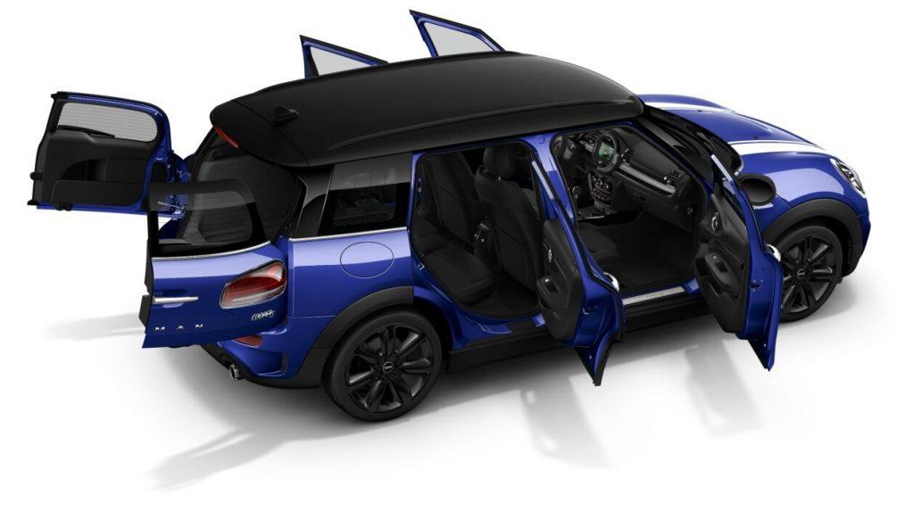 Mini Cooper S Clubman 2020 vue intérieur
