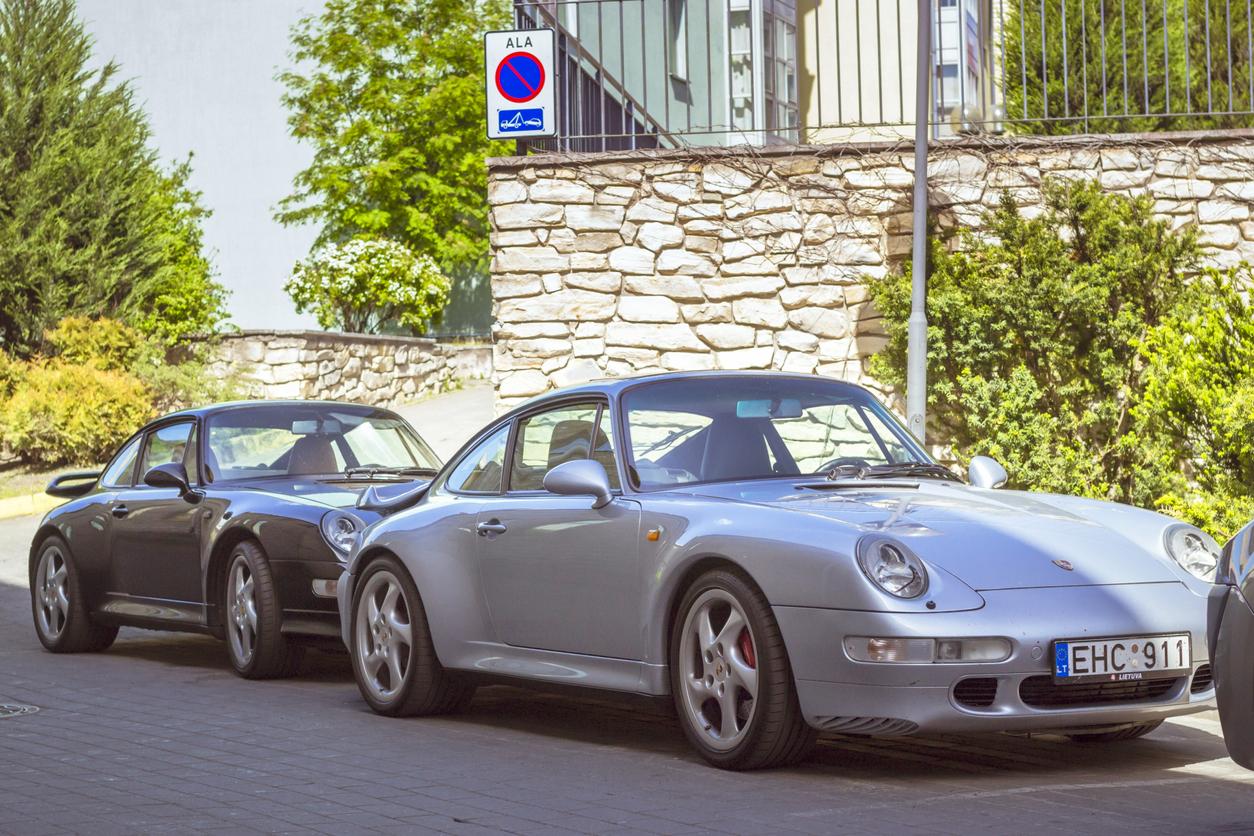 sticker Porsche personnalisation